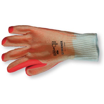 Gants latex orange 9